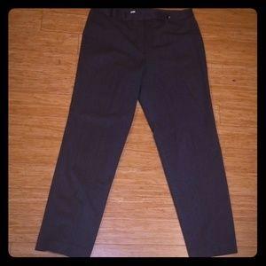 Talbots Gray Career Pants